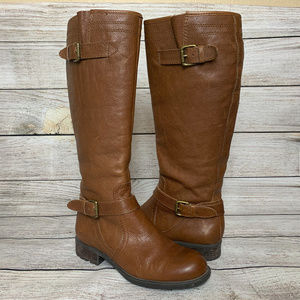 Franco Sarto Pammy Brown Knee High Boots